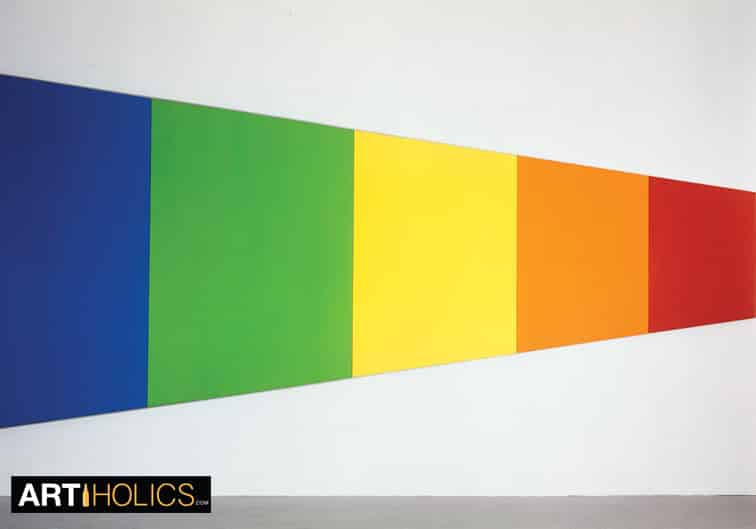 Ellsworth Kelly Awarded The National Medal of Arts By Barack Obama