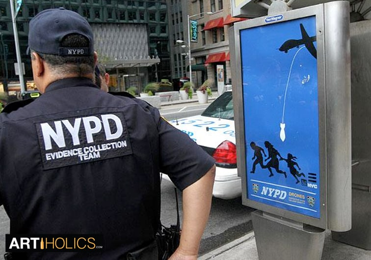 Targeted Artist: NYPD Drone Poster Bomber Essam Artiholics Interview