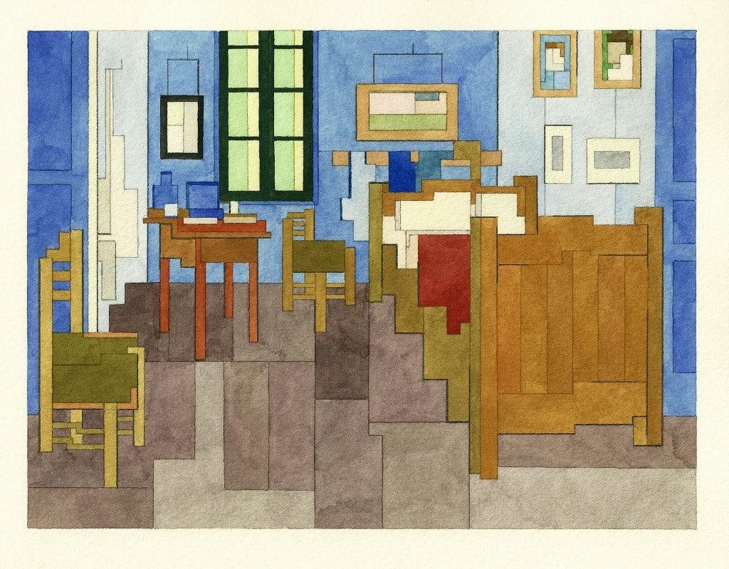 Adam Lister - Bedroom in Arles