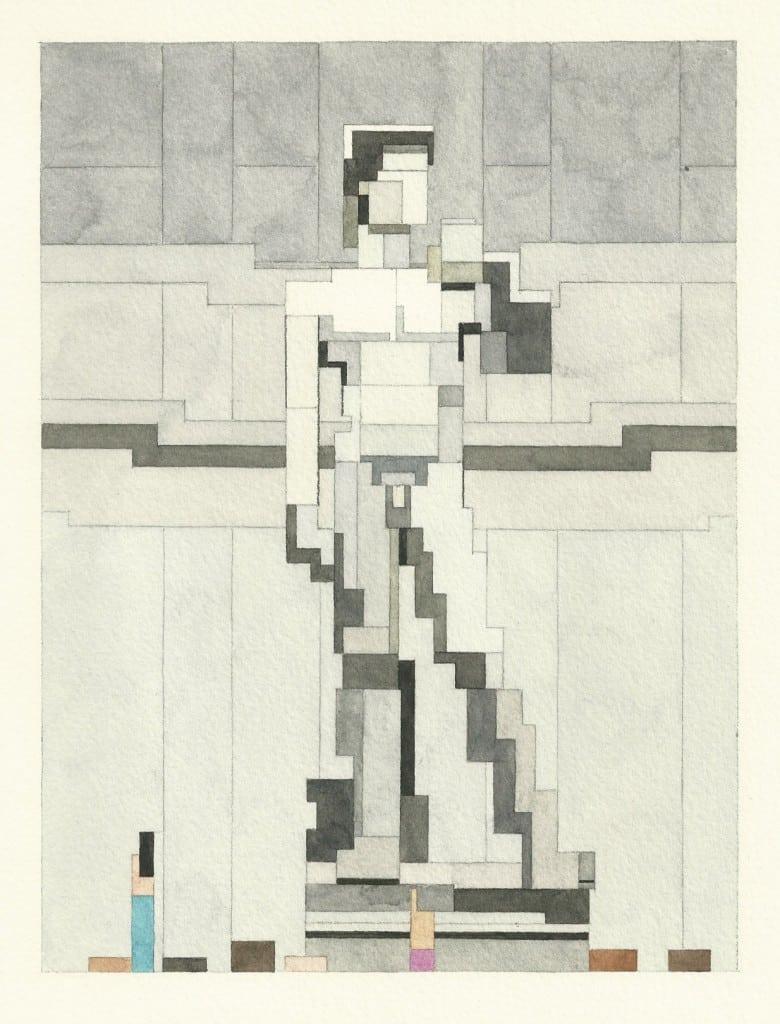 Adam Lister - statue of David