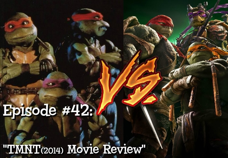 Teenage Mutant Ninja Turtles, 2014 Versus 1990