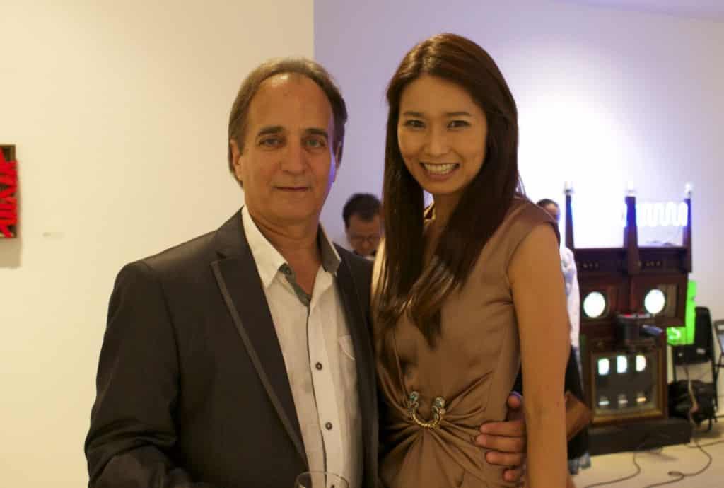 James Cavello and Kate Shin