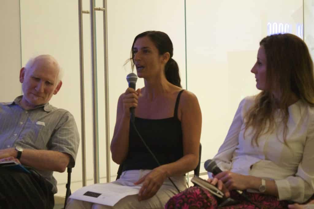 Peter Frank, Zana Briski, and Maria Constanza Cerullo