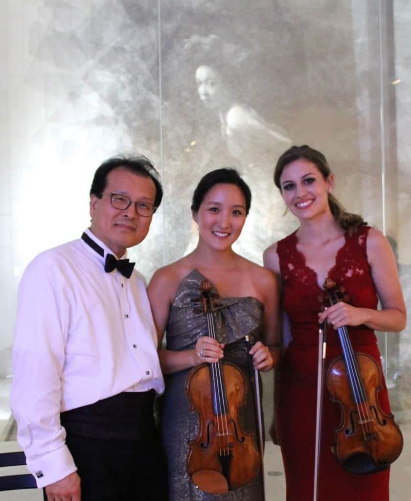 Solists and Violins