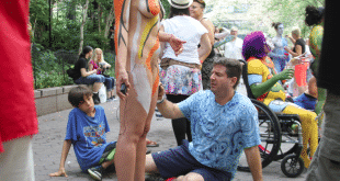 Artists & Nude Models Take To The New York Streets For Bodypainting Day (NSFW)