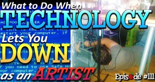How Artists deal with Technology Failures, and Tips for You!