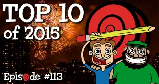 Top 10 Episodes of the RubberOnion Animation Podcast in 2015