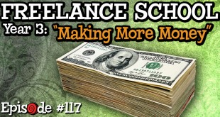How to Make More Money When You Hit Your Freelance Plateau – RubberOnion Animation Podcast #117
