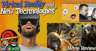 "Virtual Reality animation, interviews with ""Pikapetey"" & Dave Johnson, and a movie review of ""The Jungle Book"" (2016) – RubberOnion Animation Podcast #135"