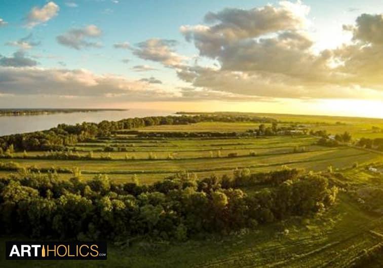 striking drone landscape photos