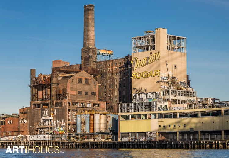 After The Sugar Amp Before The Sphinx The Domino Sugar Factory Photos Artiholics